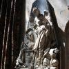 Abbey Interior - Statue